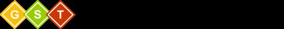 The G S T logo